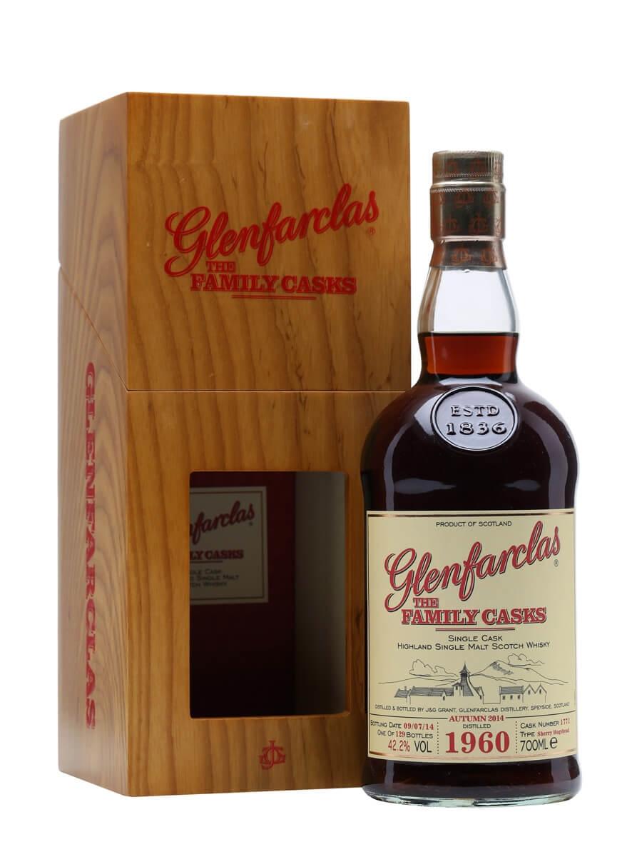 Glenfarclas 1960 / Family Casks 2014 /Sherry Cask #1771