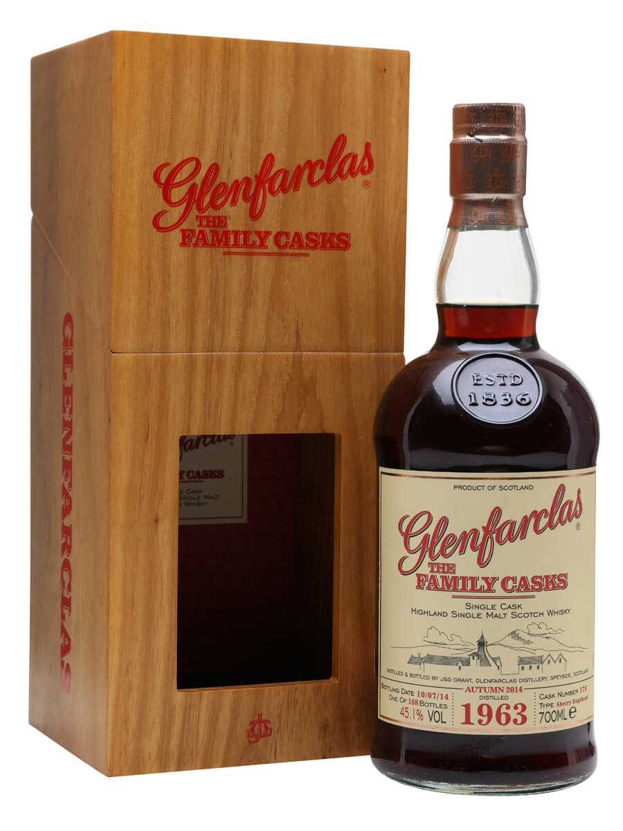 Glenfarclas 1963 / Family Casks A14 / Sherry Cask #178