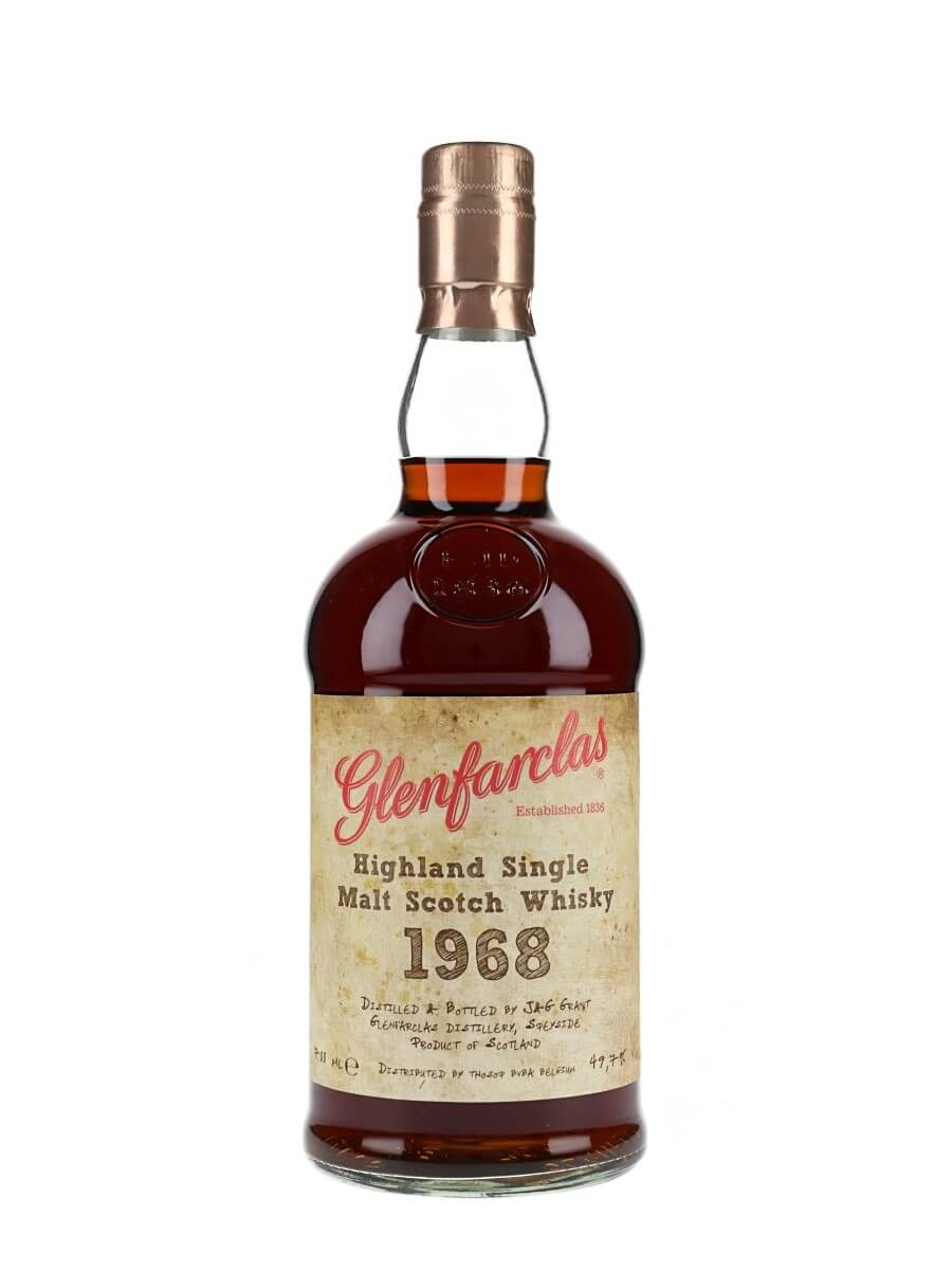 Glenfarclas 1968 / 41 Year Old / Sherry Casks #702 & 5240