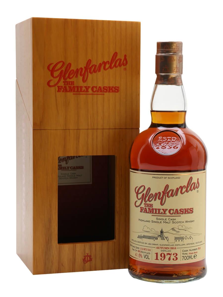 Glenfarclas 1973 / Family Casks 2014 /Sherry Cask #R1