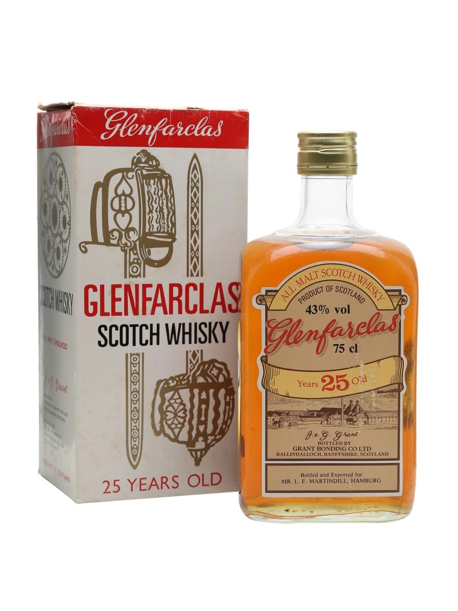 Glenfarclas 25 Year Old / Bot.1970s
