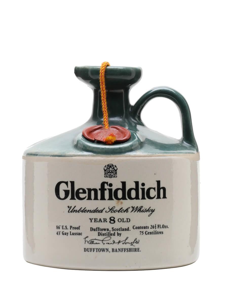 Glenfiddich 8 Year Old / Bot.1970s