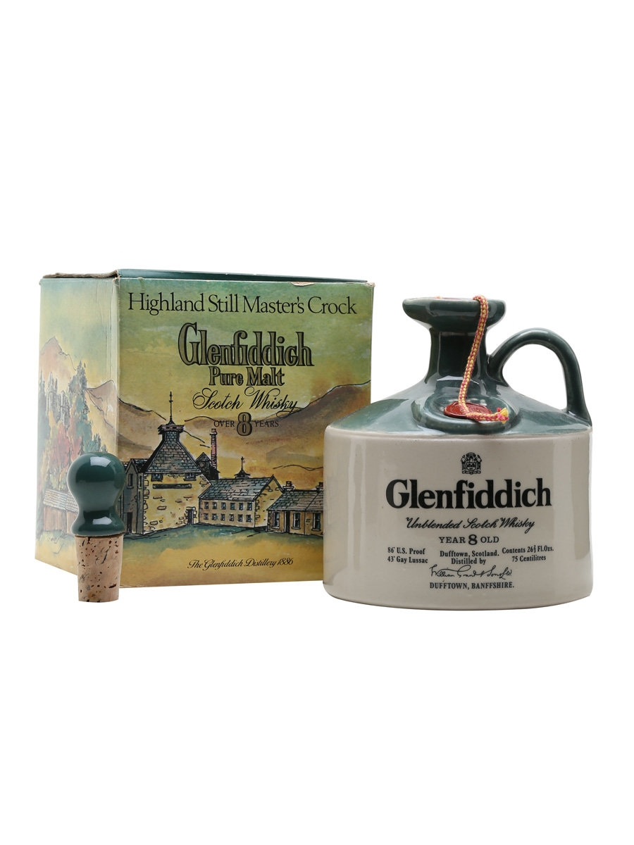 Glenfiddich 8 Year Old / Bot.1970s