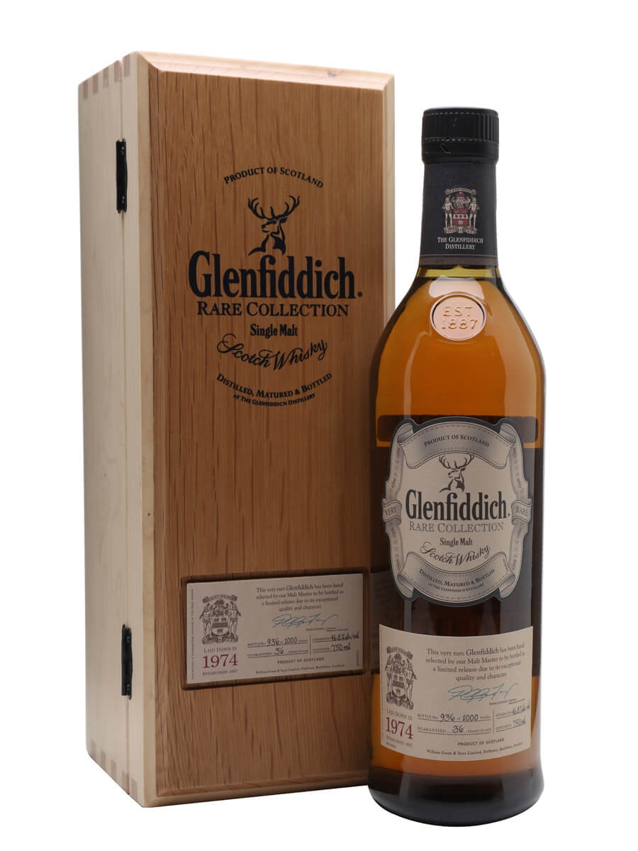 Glenfiddich 1974 / 36 Year Old / Rare Collection
