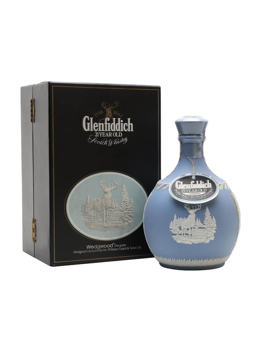 Glenfiddich 21 Year Old / Wedgwood Decanter