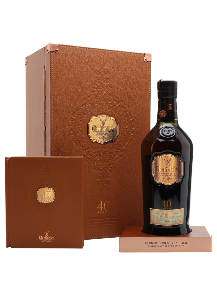 Glenfiddich 40 Year Old / Release 17 / Bot.2021