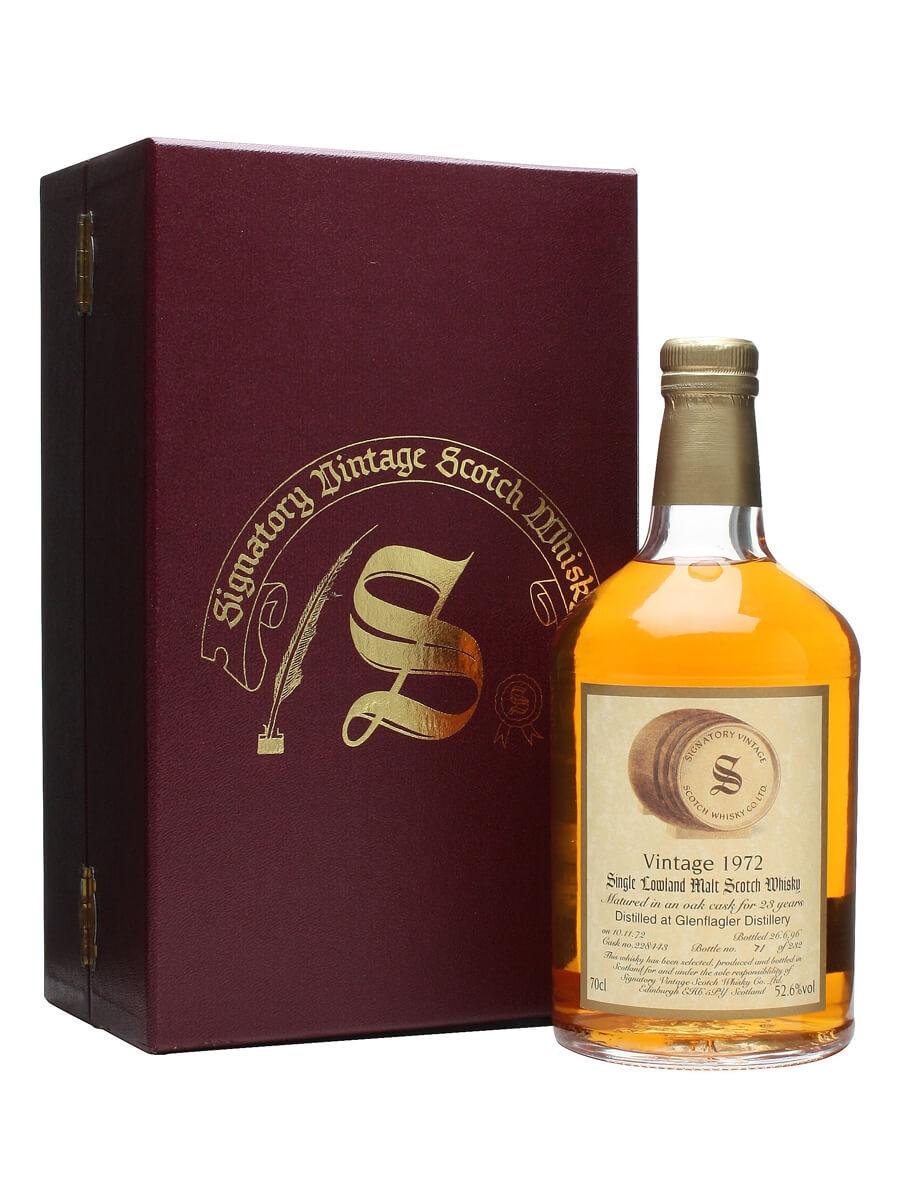 Glenflagler 1972 / 23 Year Old / Signatory