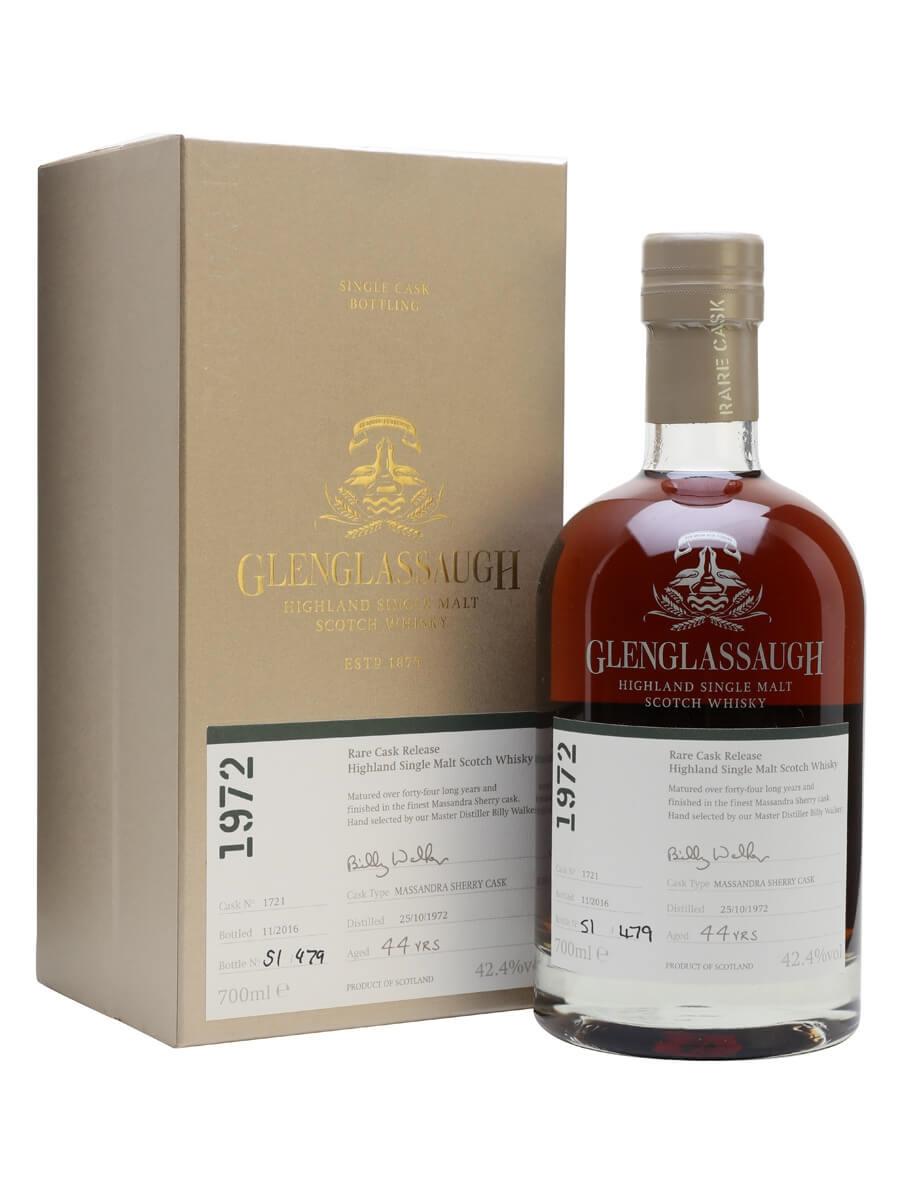 Glenglassaugh 1972 / 44 Year Old / Rare Cask Release Batch 3
