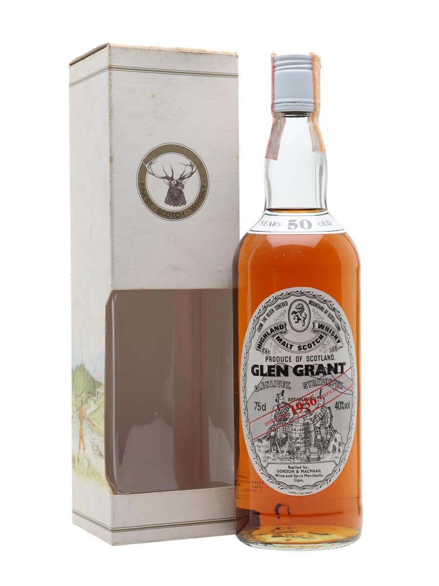 Glen Grant 1936 / 50 Year Old / Gordon & MacPhail