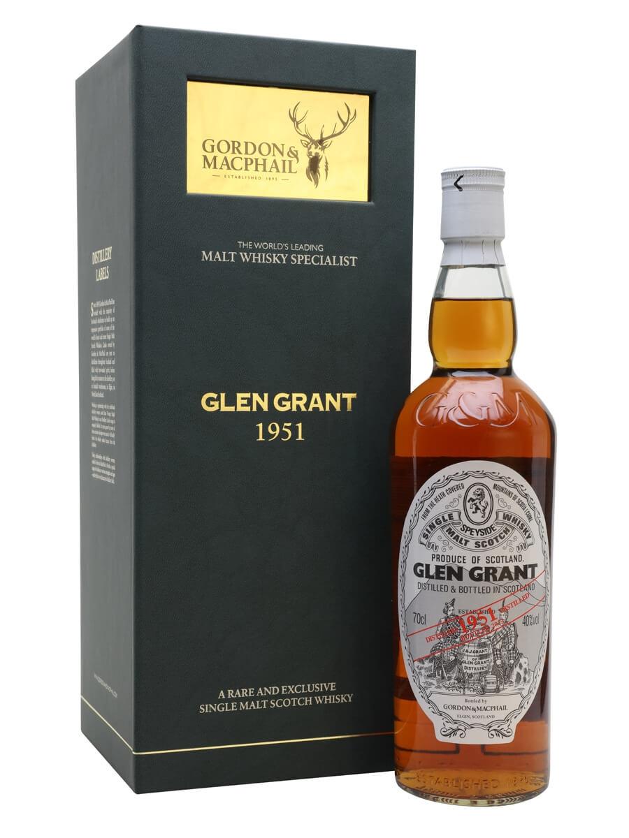 Glen Grant 1951 / 62 Year Old / Sherry Cask / Gordon & MacPhail