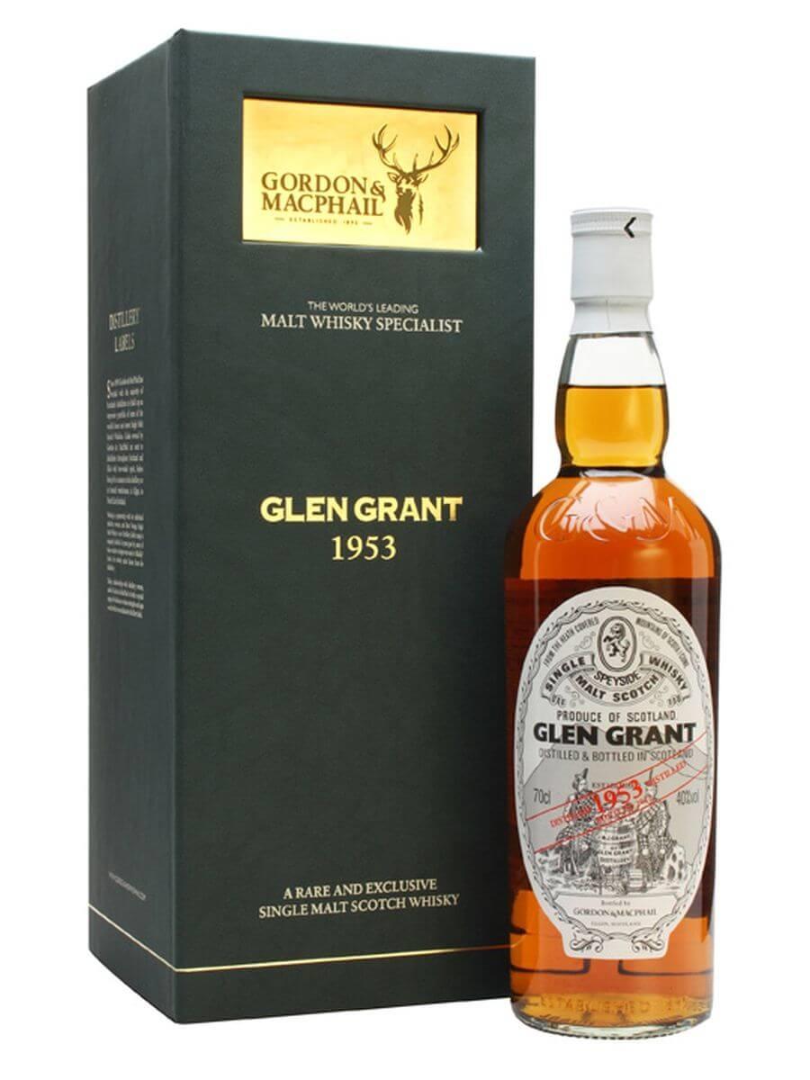 Glen Grant 1953 / 60 Year Old / Sherry Cask / Gordon & MacPhail