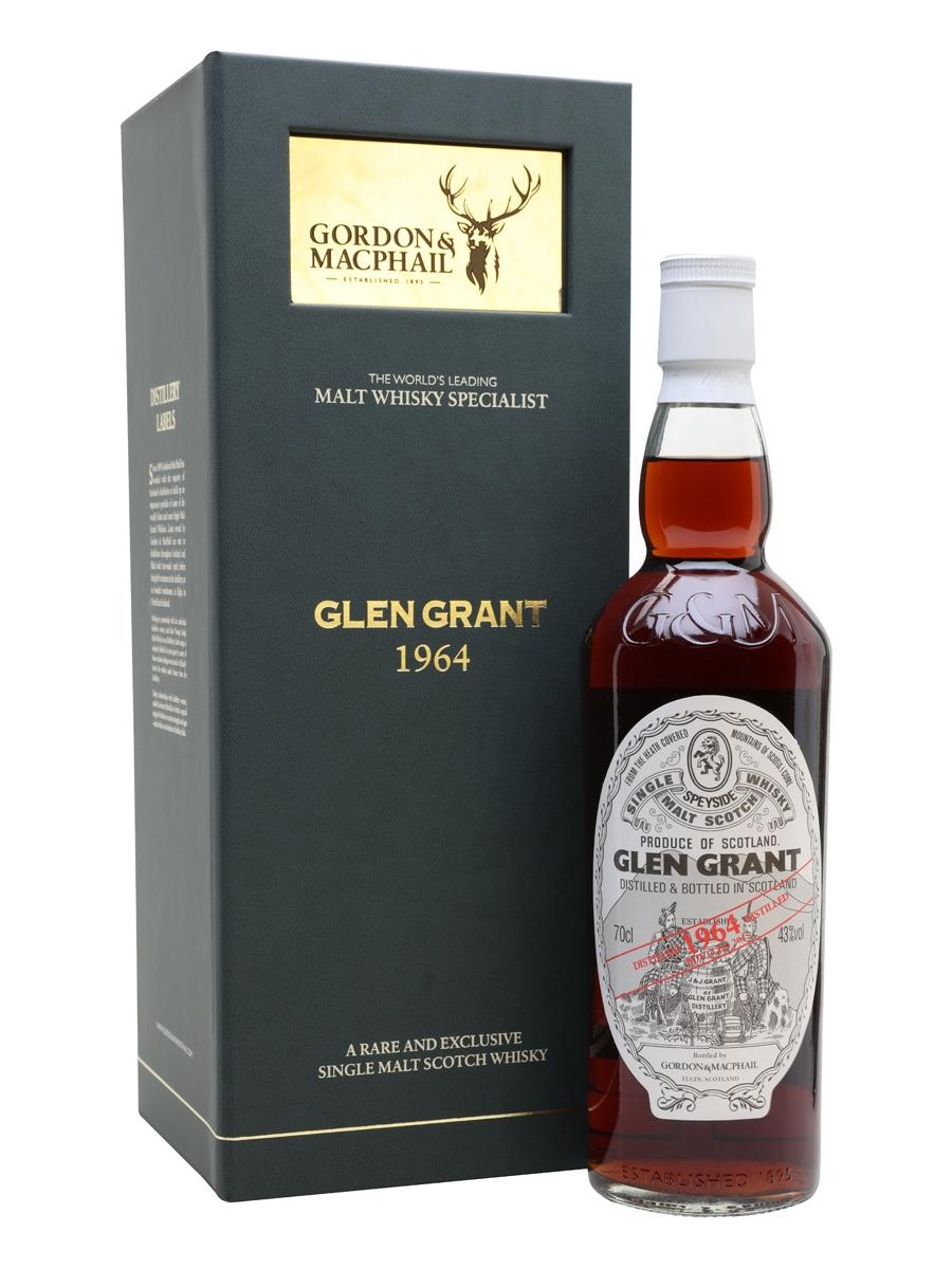Glen Grant 1964 / 50 Year Old / Sherry Cask / Gordon & MacPhail