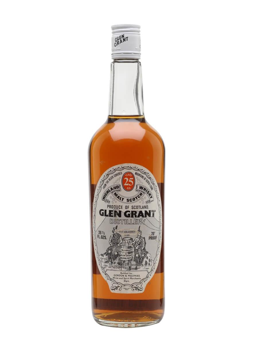 Glen Grant 25 Year Old / Bot.1970s / Gordon & MacPhail