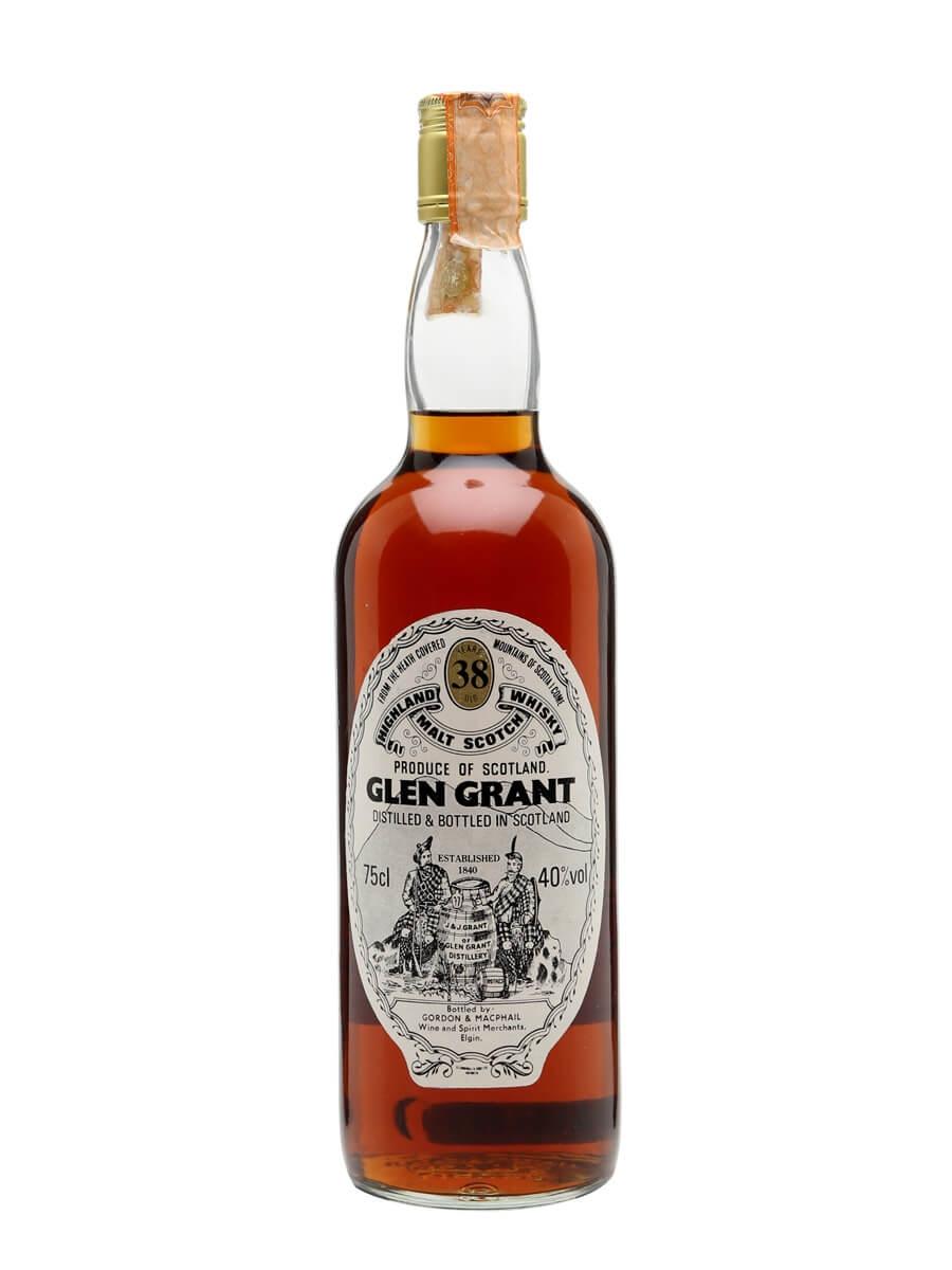 Glen Grant 38 Year Old / Bot.1980s / Gordon & MacPhail