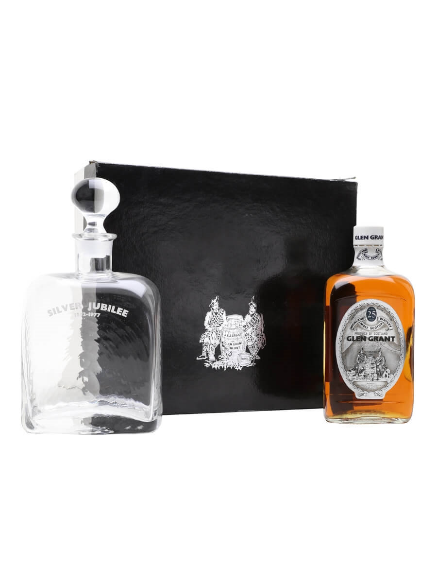 Glen Grant 25 Year Old / Silver Jubilee + Dec