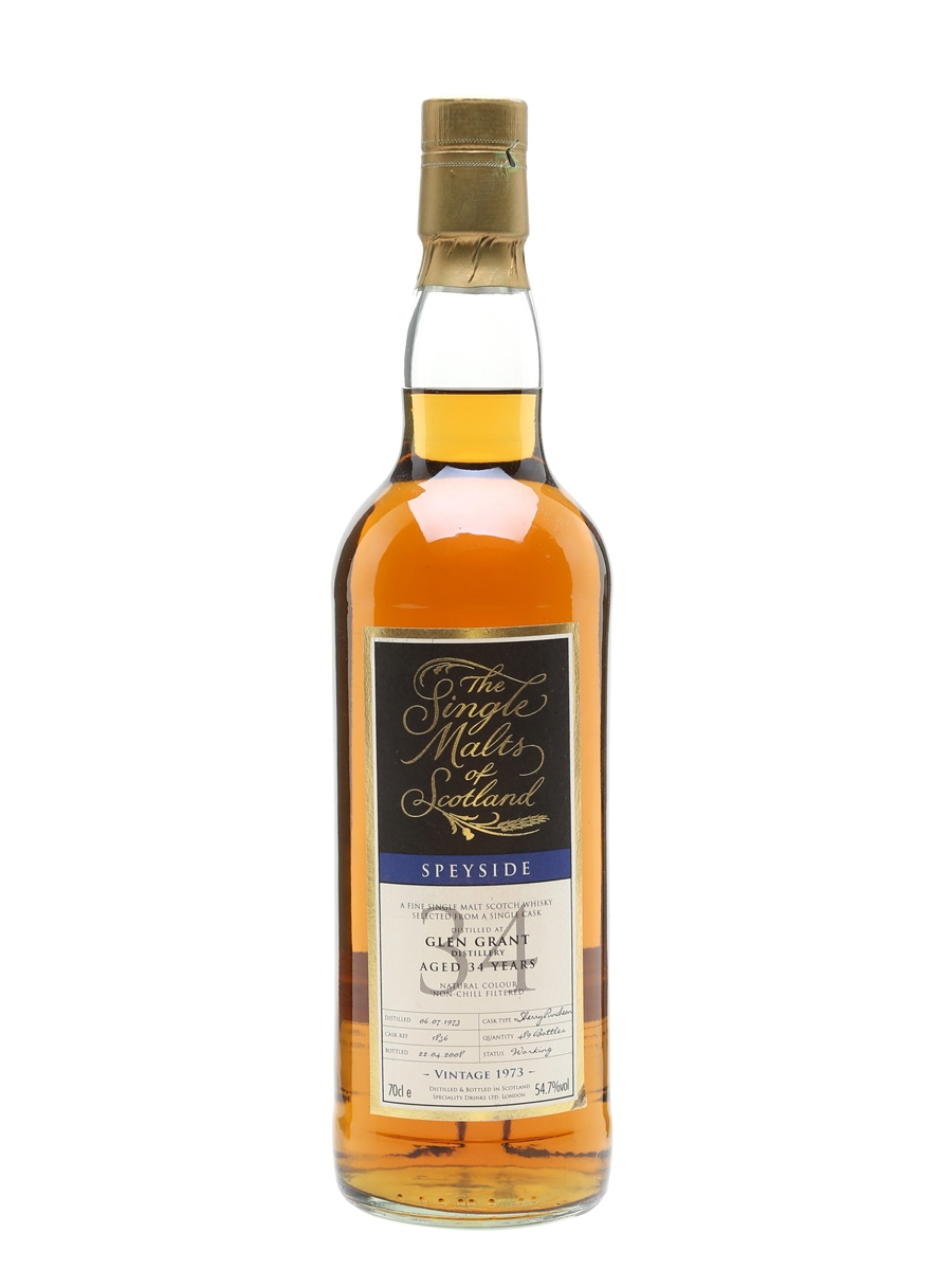 Glen Grant 1973 / 34 Year Old / Sherry Cask / SMoS
