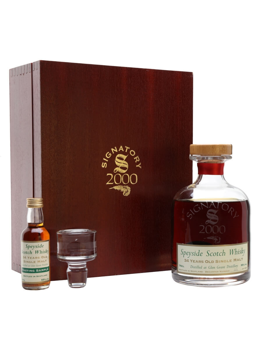 Glen Grant 1965 / 34 Year Old / Sherry Cask / Signatory