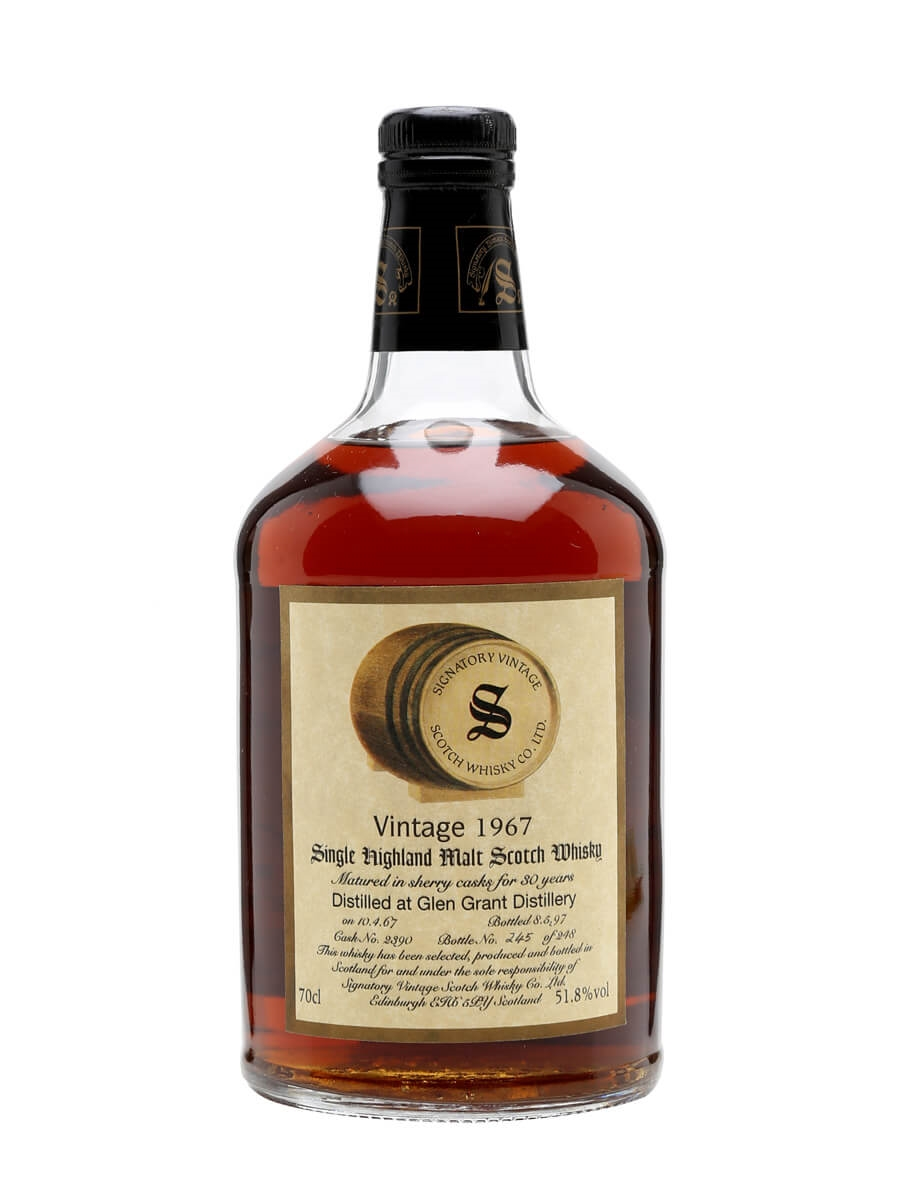 Glen Grant 1967 / 30 Year Old / Sherry Cask / Signatory