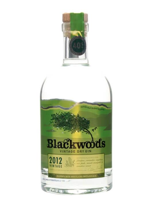 Blackwoods 2012 Vintage Dry Gin (40%)