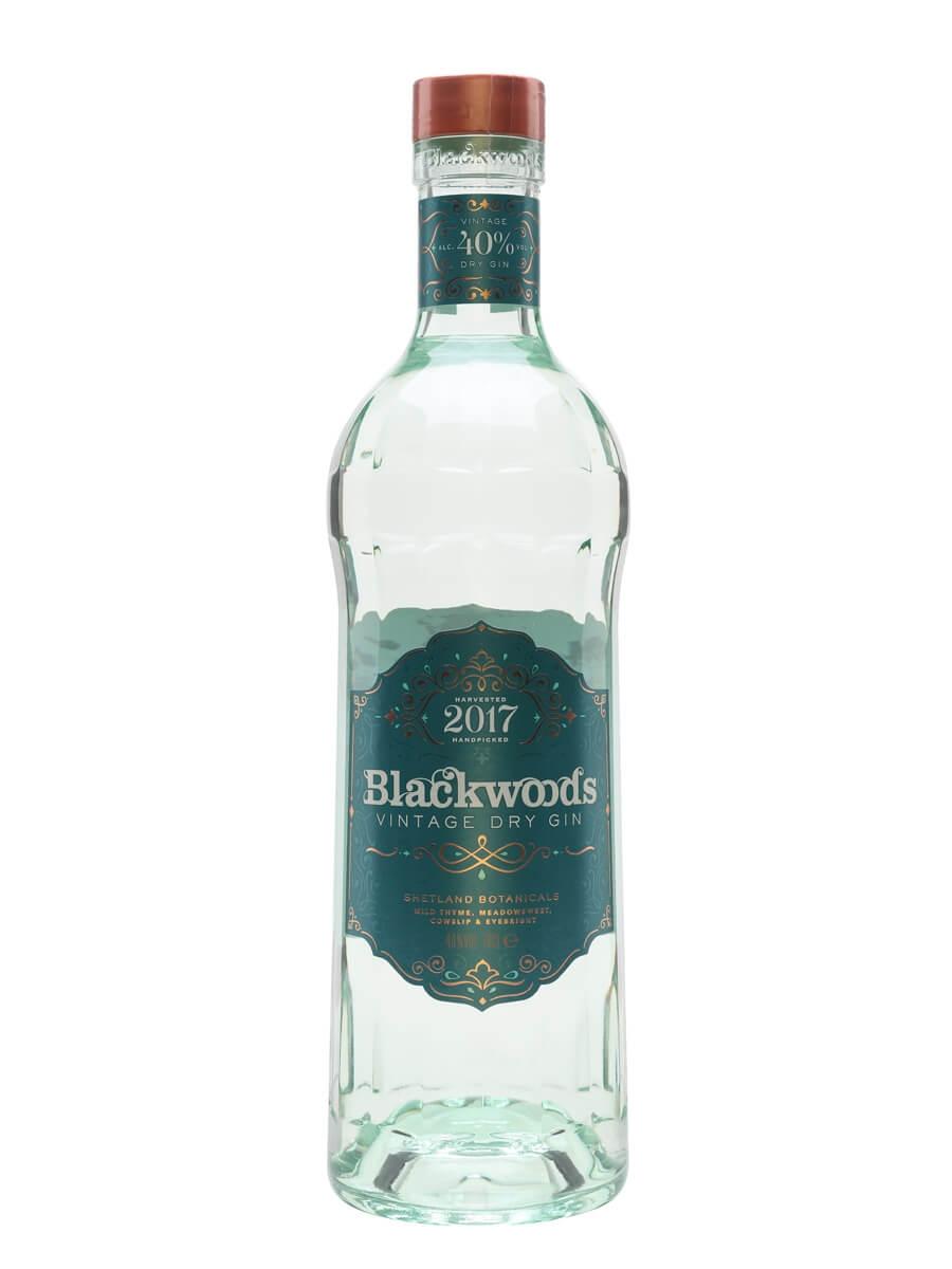 Blackwoods 2017 Vintage Dry Gin (40%)