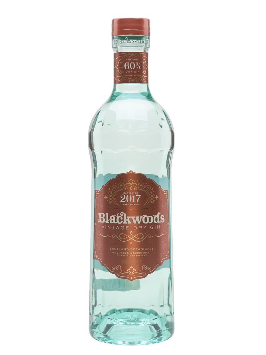 Blackwoods 2017 Vintage Dry Gin (60%)