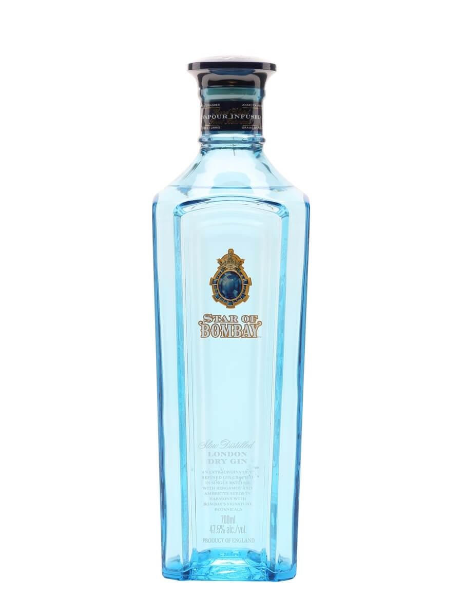 Star of bombay gin buy from the whisky exchange for Best mixers for gin