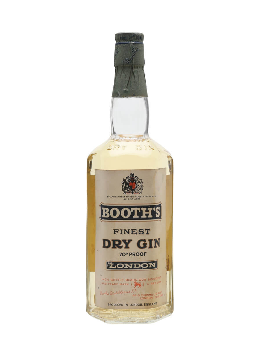 Booth's Dry Gin / Bot.1959