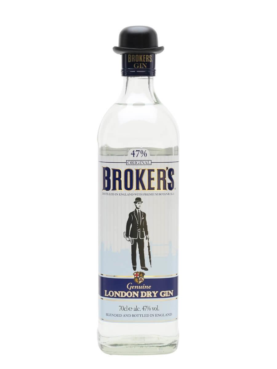Broker's Export London Dry Gin
