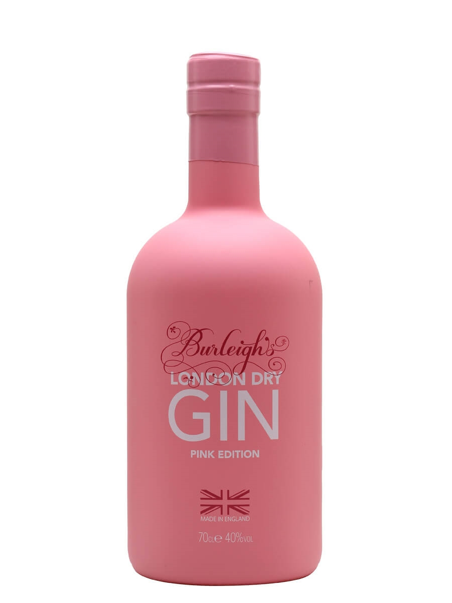 Burleigh's Pink Limited Edition Gin London Dry 70cl