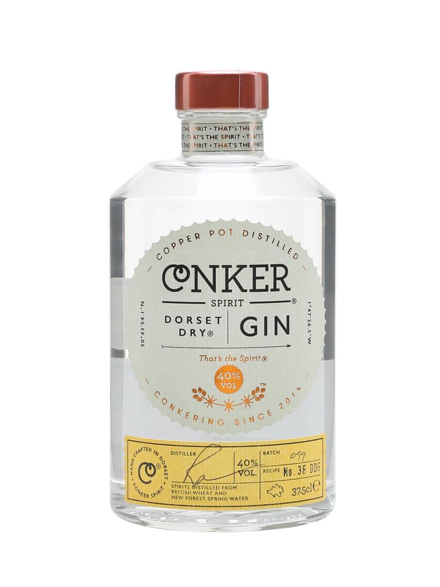 Conker Spirit Dorset Dry Gin / Half Bottle
