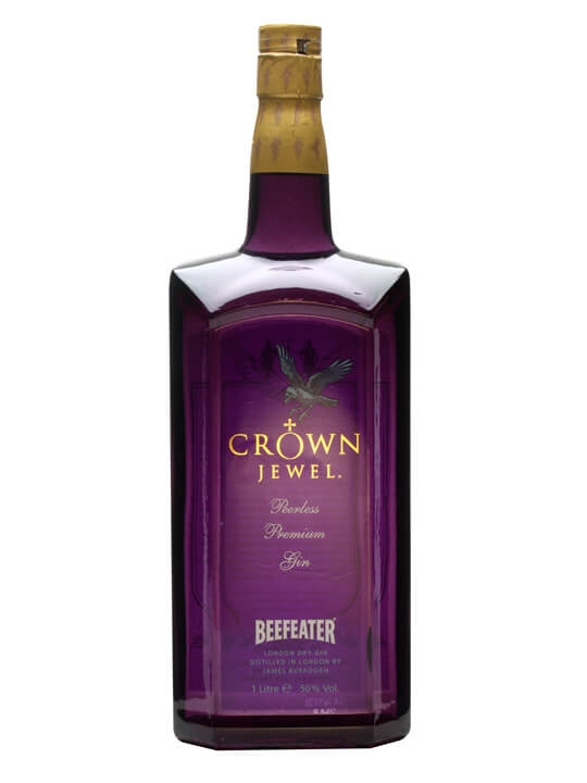 Crown Jewel Gin / Bot.1990s / Litre