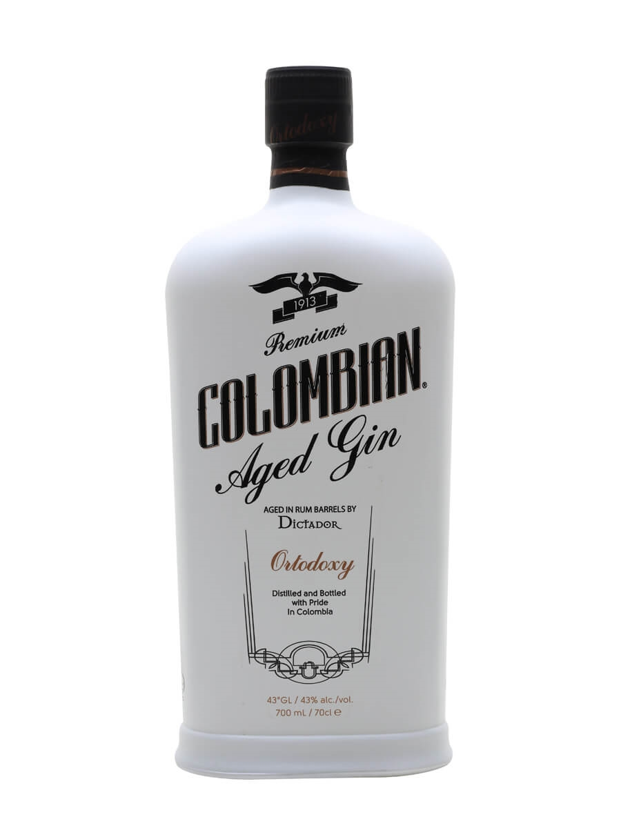 Dictador Colombian Age White Dry Gin - Ortodoxy : Buy from The ...