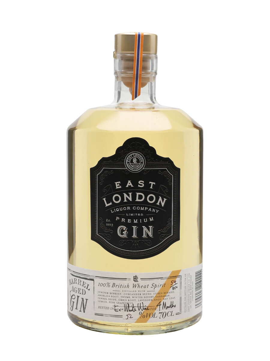 East London Liquor Barrel Aged Gin - Batch 5 : Buy from The Whisky