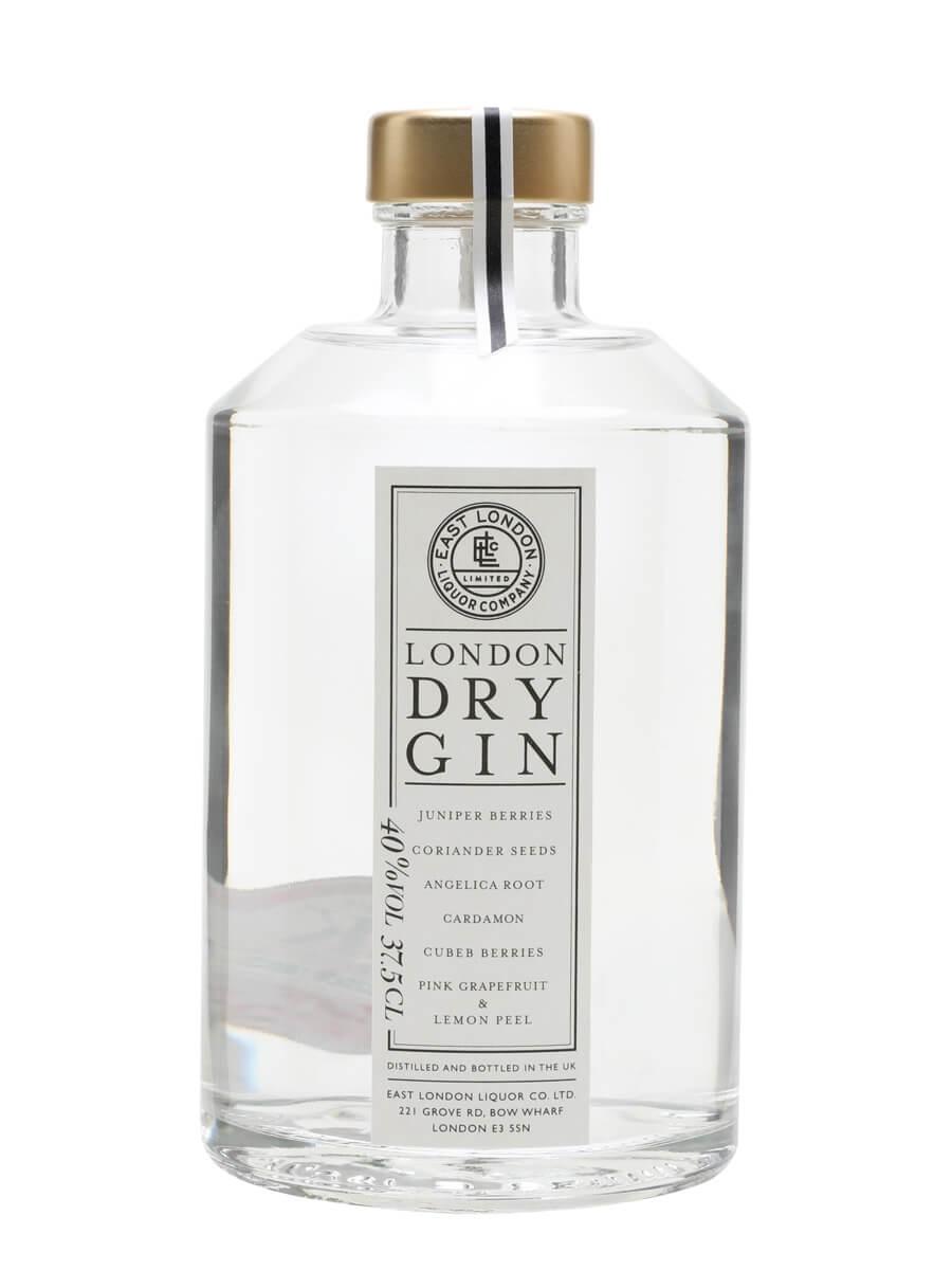 East London Liquor London Dry Gin / Half Bottle