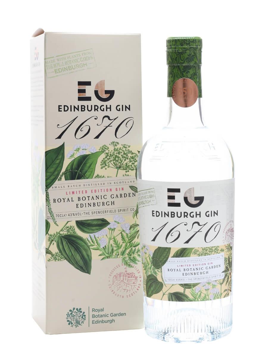 Edinburgh 1670 Royal Botanical Gardens Gin