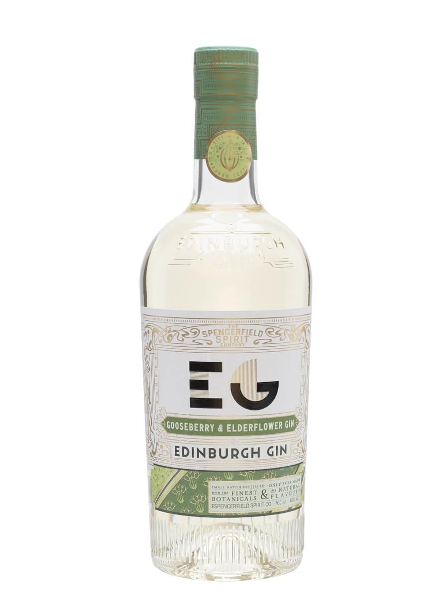 Edinburgh Gooseberry and Elderflower Gin