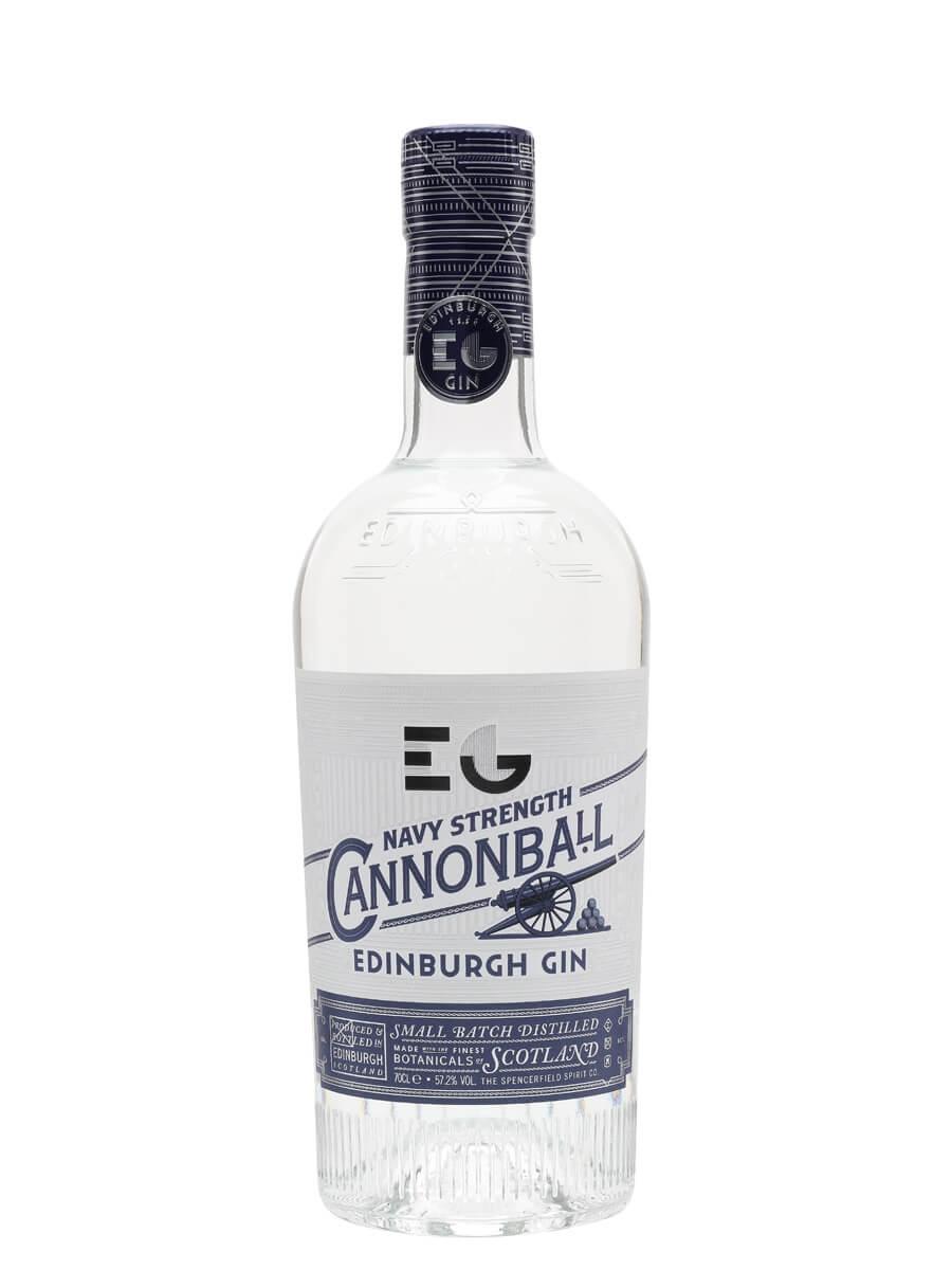 Edinburgh Cannonball Navy Strength Gin