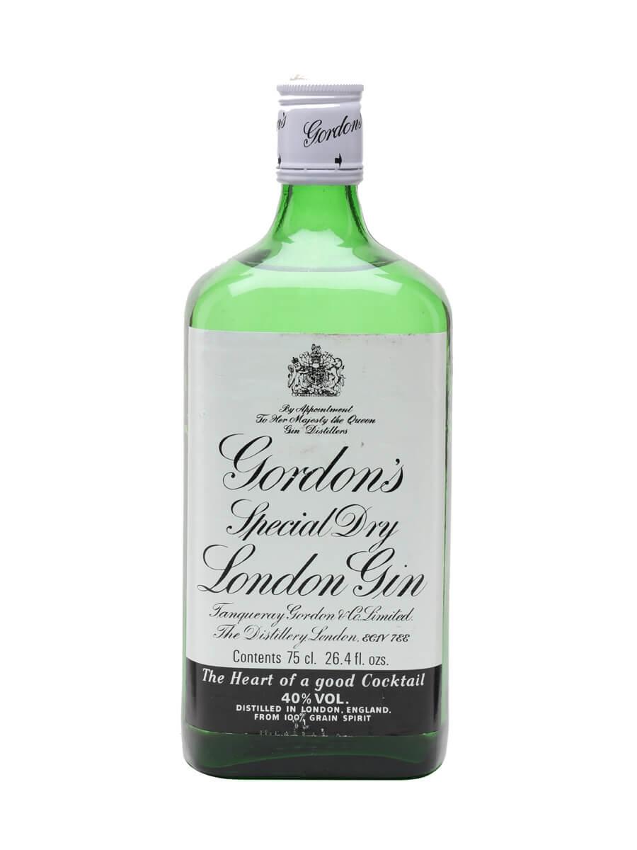Gordon's Gin / Bot.1980s