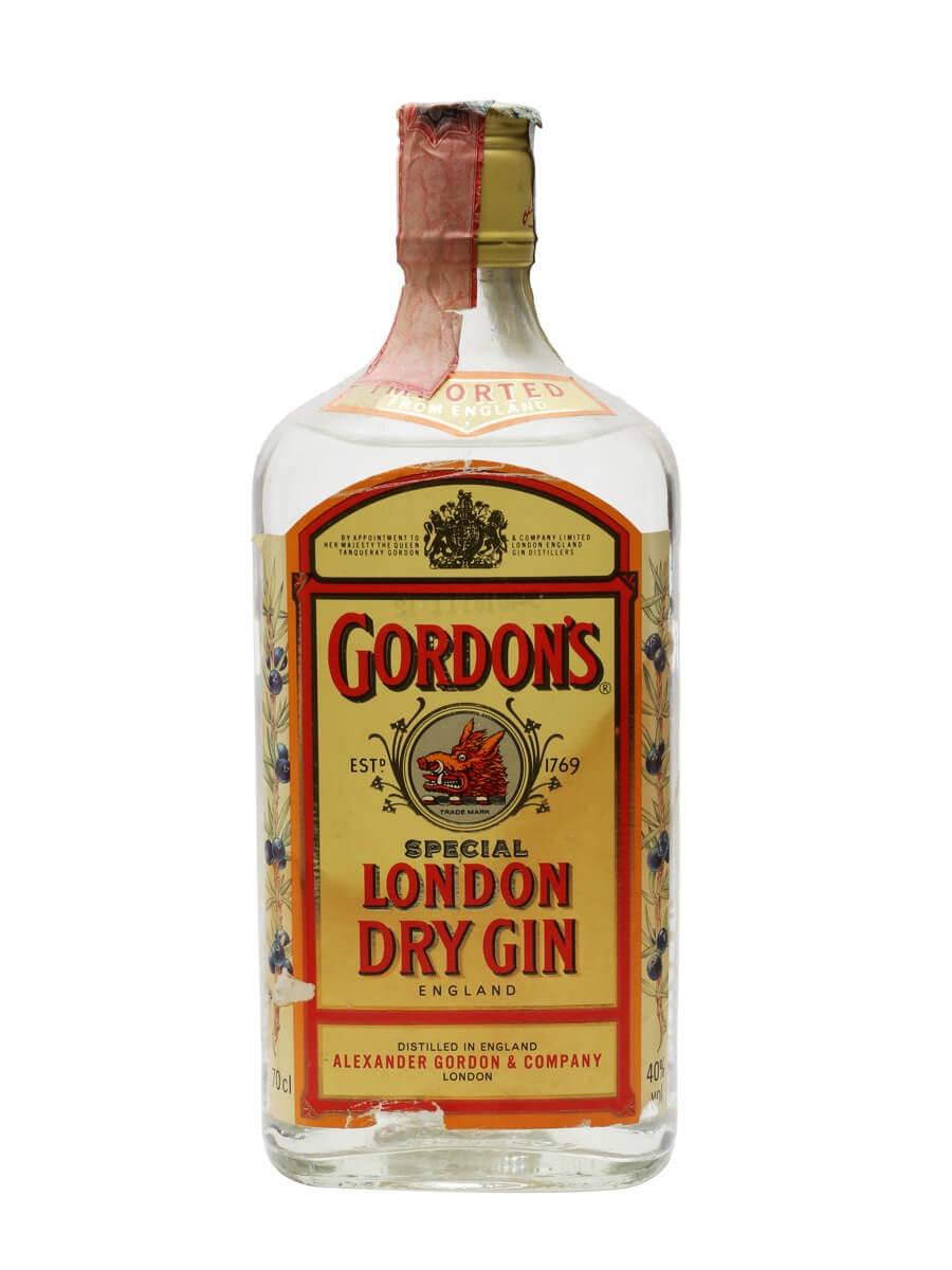 Gordon's Dry Gin / Bot.1990s