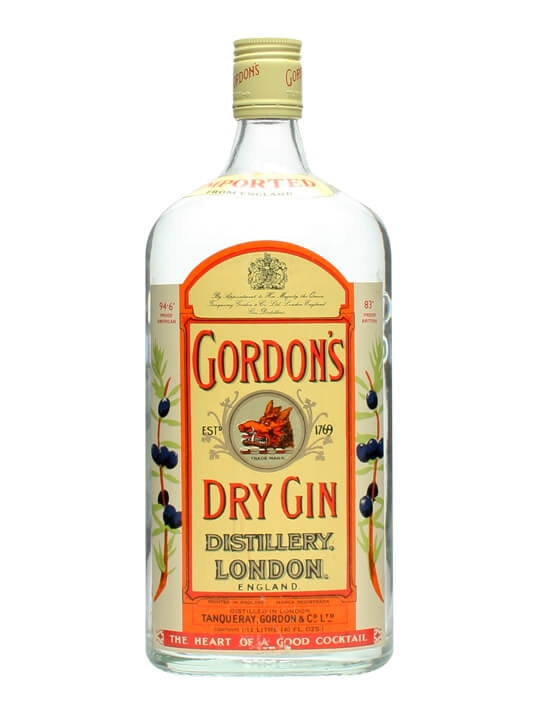 Gordon S Dry Gin Bot 1970s Large Bottle Buy From The