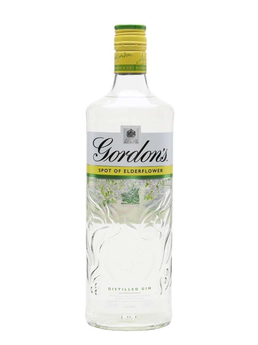 Gordon's Gin With A Spot Of Elderflower