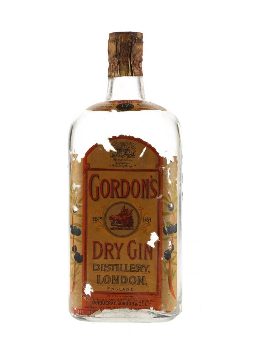 Gordon's London Dry Gin / Bot.1940s / Spring Cap