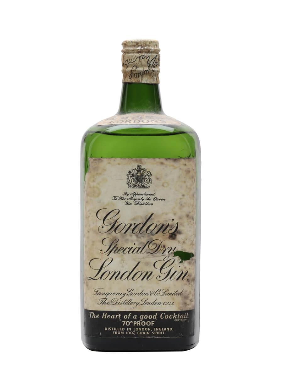Gordon S Gin Spring Cap Bot 1950s Buy From The