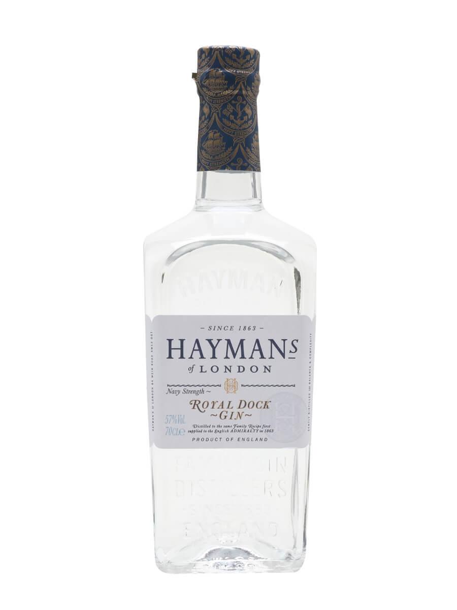Hayman's Royal Dock Gin / Navy Strength