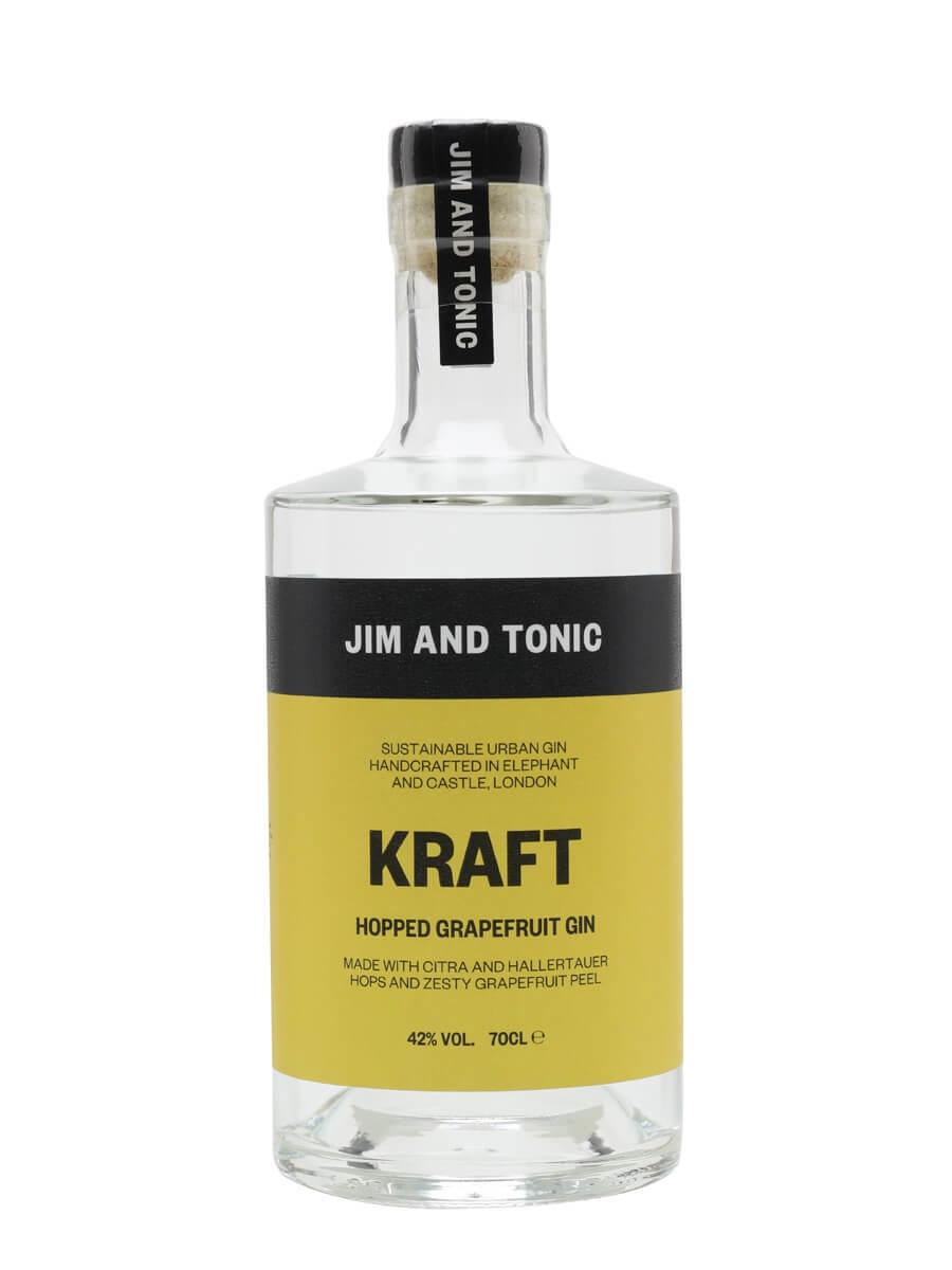 Jim and Tonic Kraft Hopped Grapefruit Gin