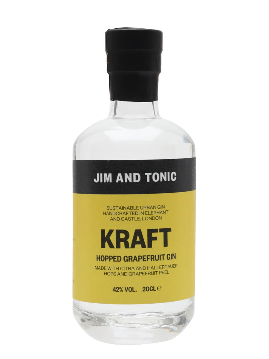 Jim and Tonic Kraft Hopped Grapefruit Gin / Small Bottle