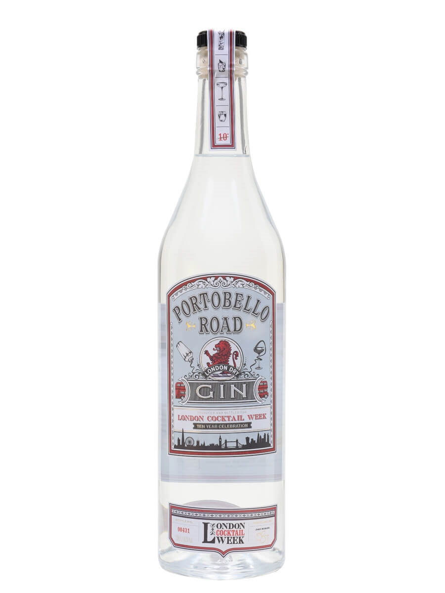 Portobello Road x London Cocktail Week London Dry Gin