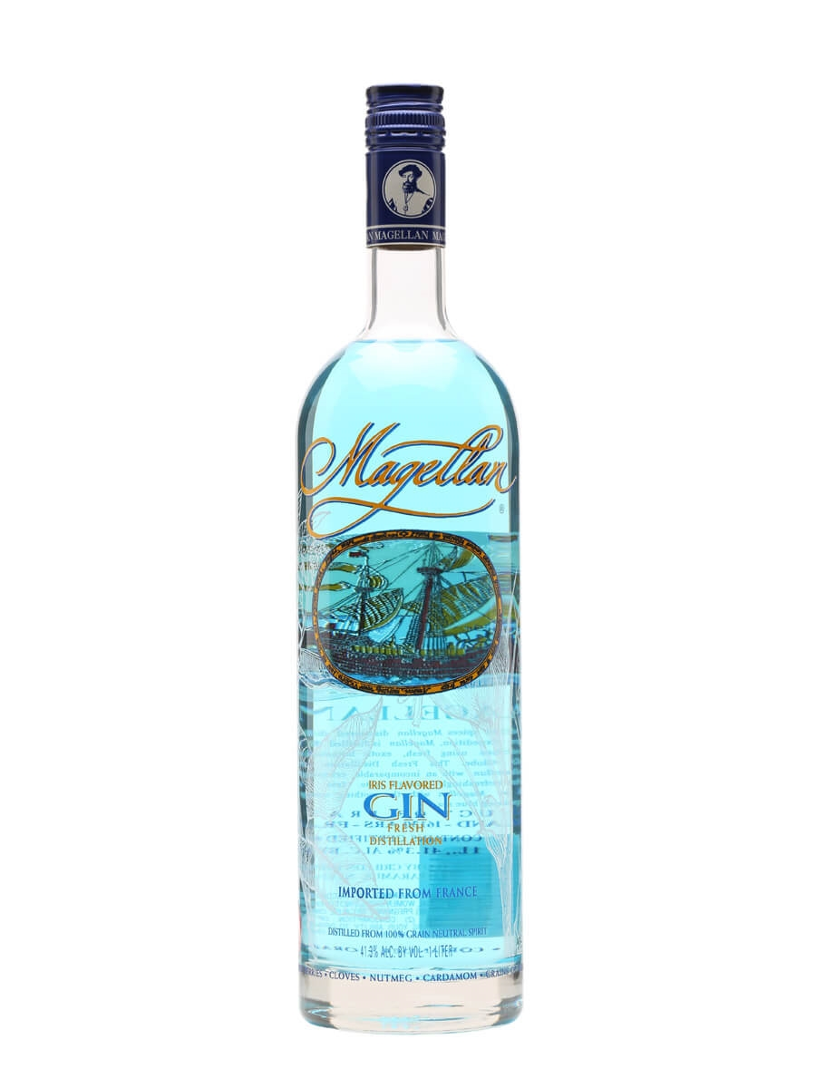 Magellan Blue Gin - Litre : Buy from The Whisky Exchange