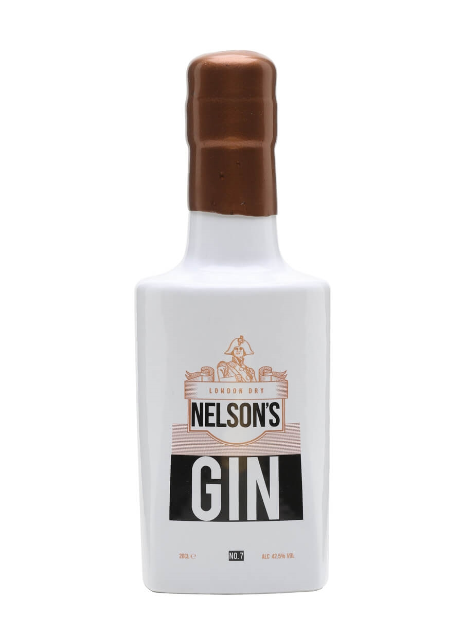 Nelson's London Dry Gin / Small Bottle