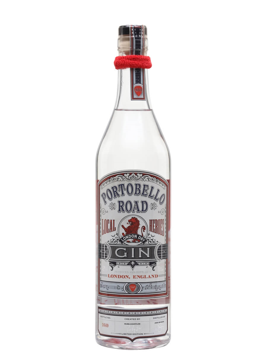 Portobello Road Local Heroes London Dry Gin